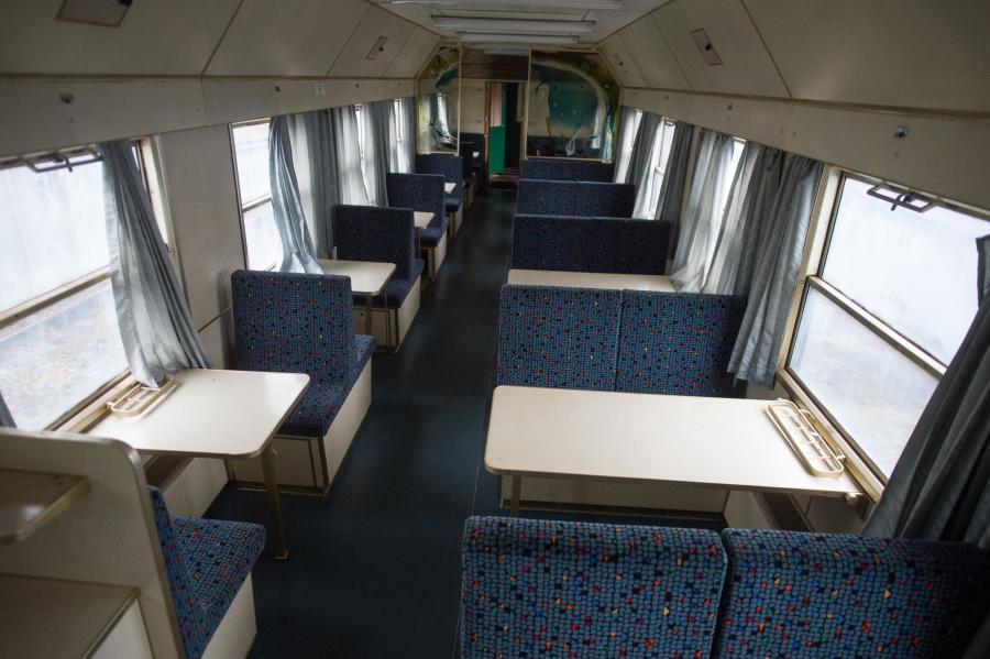 Rządowy pociąg z czasów Gierka