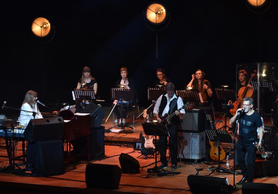 Skaldowie podczas koncertu jubileuszowego z okazji 50-lecia istnienia