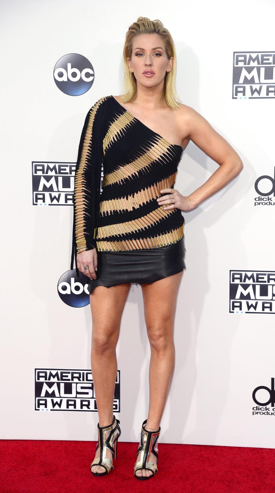 Najgorętsze gwiazdy AMA 2015: Ellie Goulding