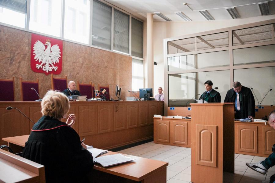 Posiedzenie sądu w sprawie Romana Polańskiego