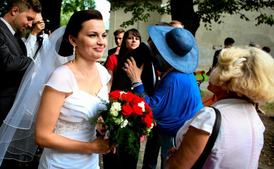 Sywia Ługowska bierze ślub z Sebastianem Bulakiem, 26 lipca 2014 roku