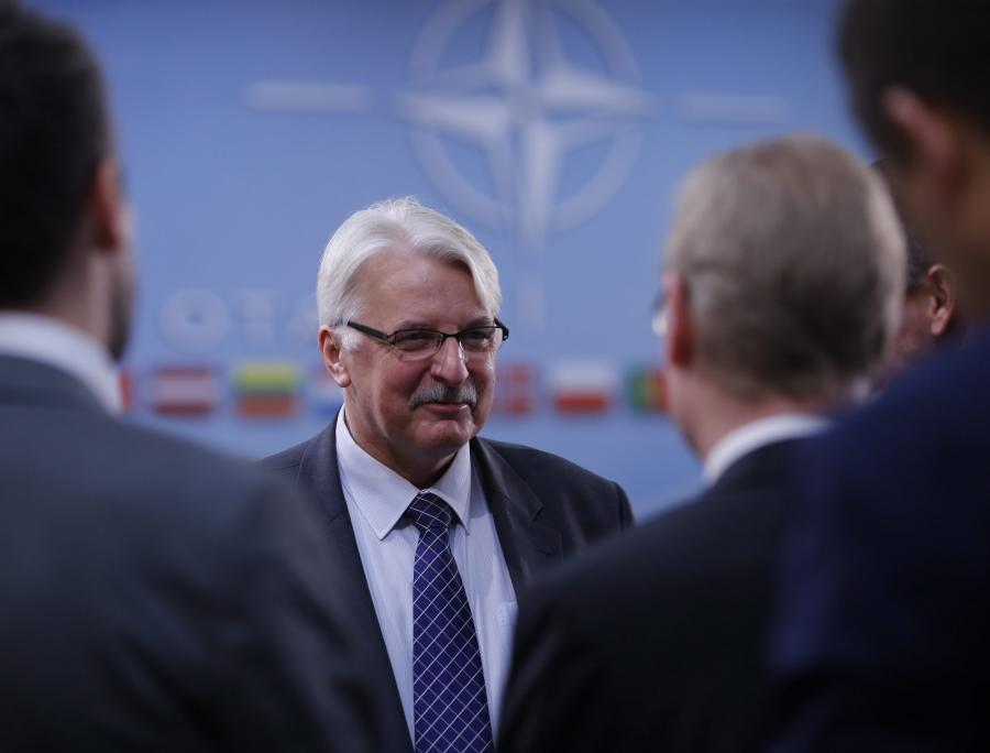 Witold Waszczykowski na spotkaniu NATO