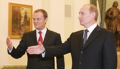 Tusk przemówi jednak przed Putinem