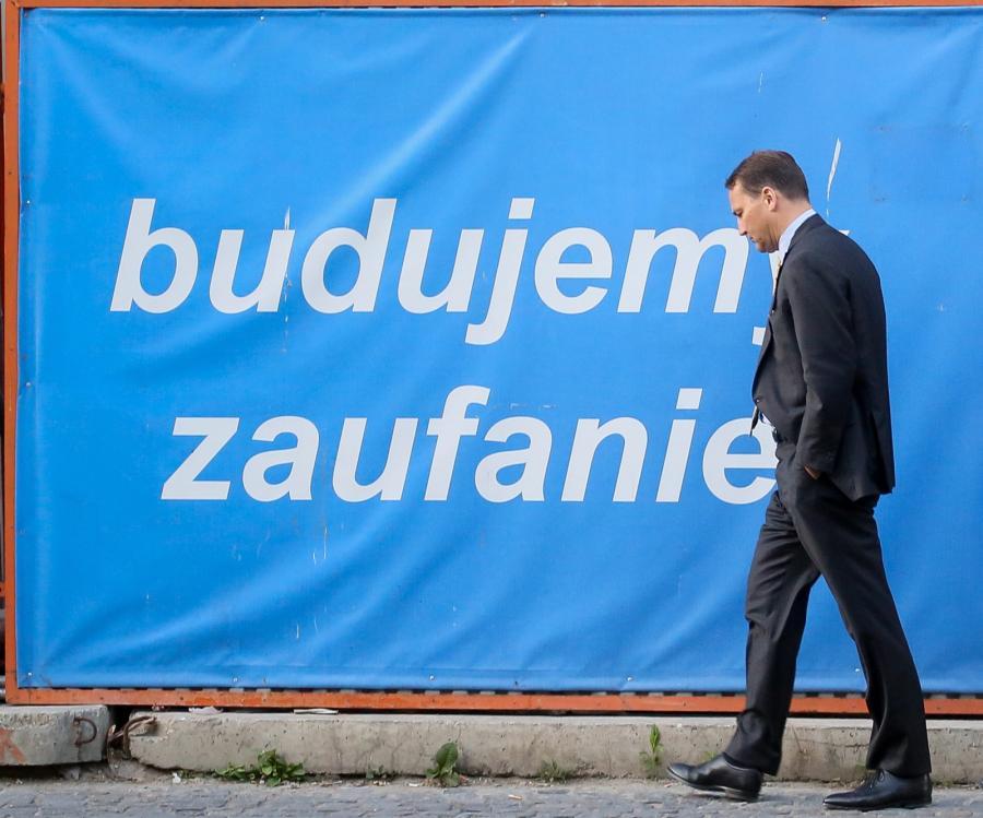 Radosław Sikorski po rezygnacji z funkcji marszałka Sejmu