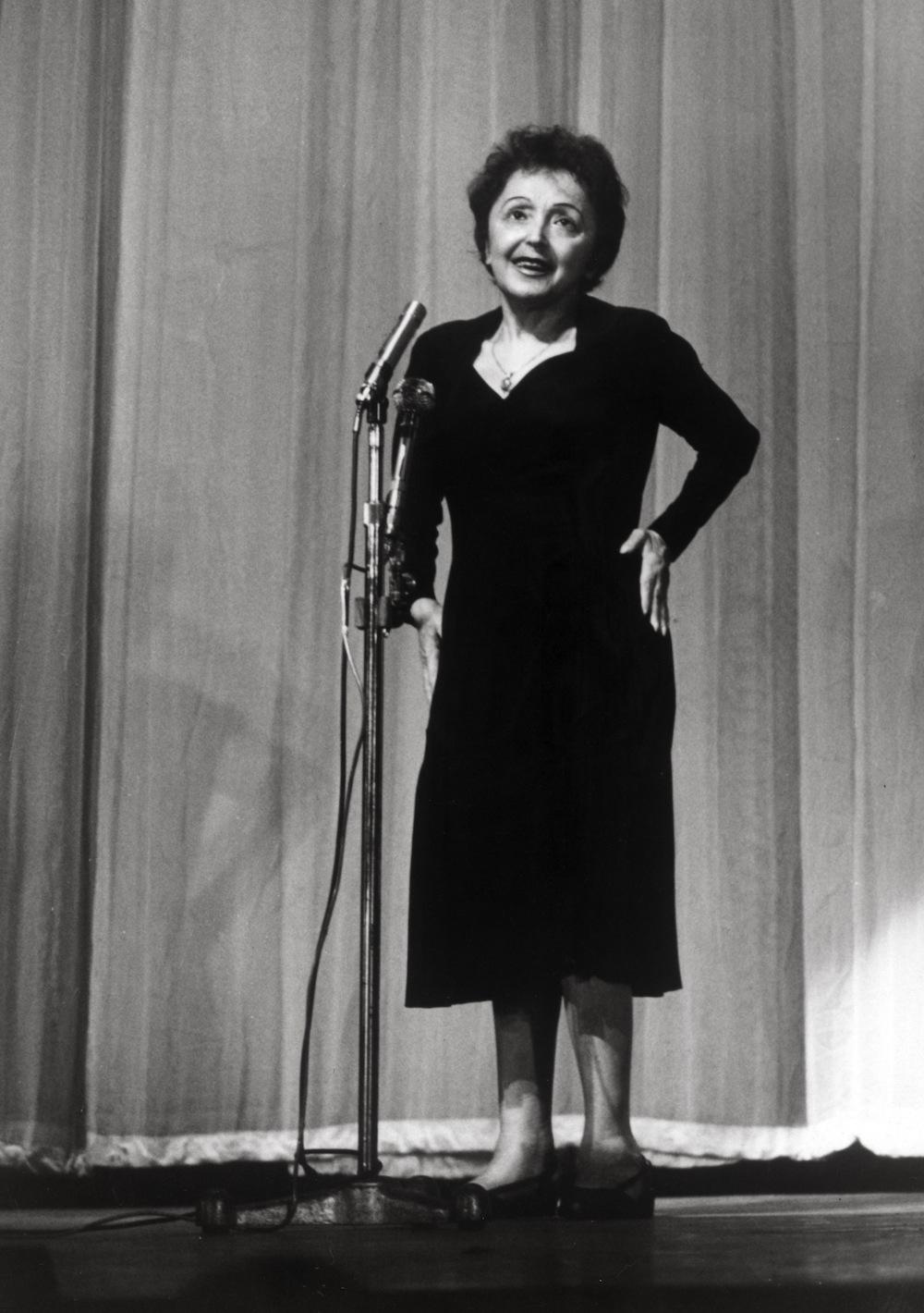 Edith Piaf w wieku 46 lat wyglądała na 70