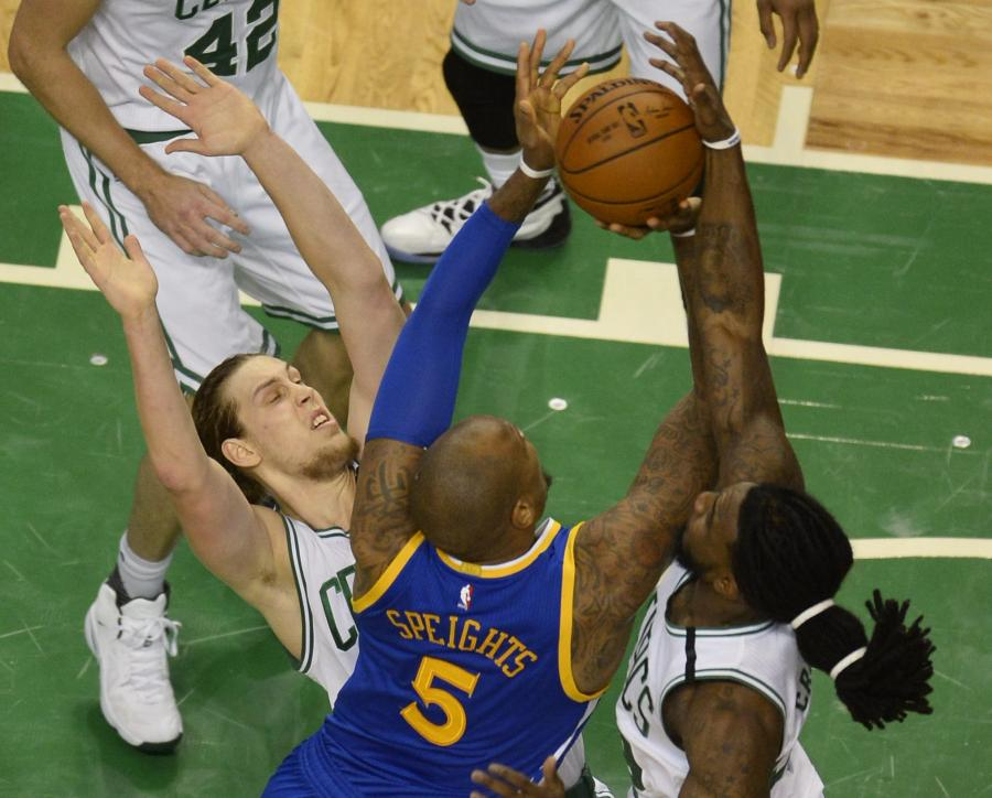 Marreese Speights i Kelly Olynyk
