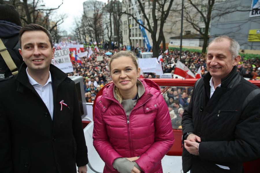 Władysław Kosiniak-Kamysz, Barbara Nowacka i Sławomir Neumann
