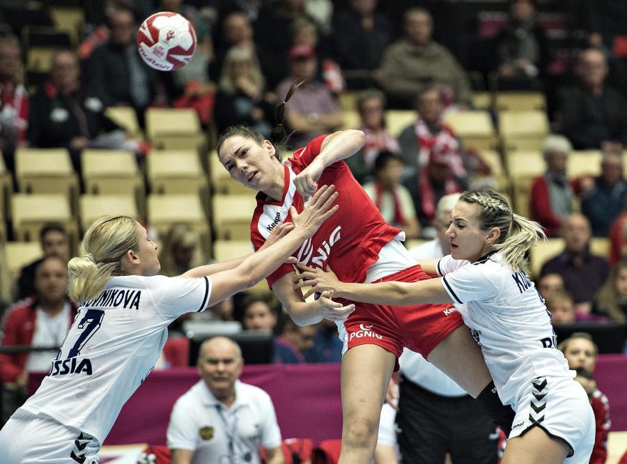 Polki grają z Rosjankami