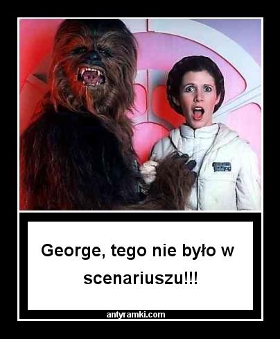 Gwiezdne wojny - mem / antyramki.com