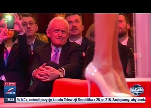 Kadr z  TV Republika