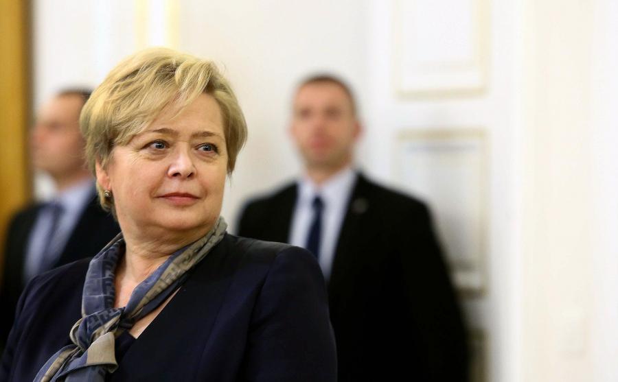 Pierwsza prezes Sądu Najwyższego Małgorzata Gersdorf