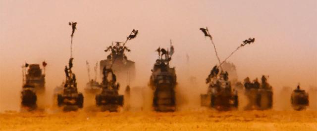 """8. """"Mad Max: Na drodze gniewu"""", zdjęcia John Seale"""
