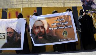 Protesty przed saudyjską ambasadą w Jemenie