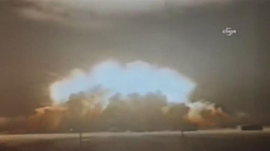 Zapis eksplozji w Korei Północnej