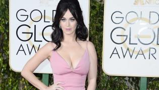 Katy Perry na gali Złotych Globów 2016