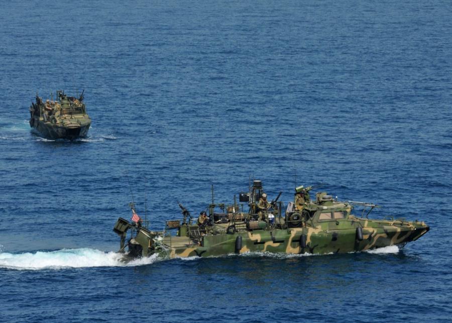 Amerykańskie łodzie patrolowe