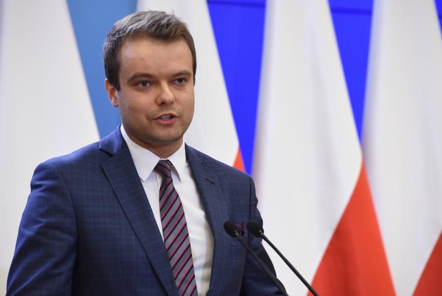 Rzecznik prasowy rządu Rafał Bochenek