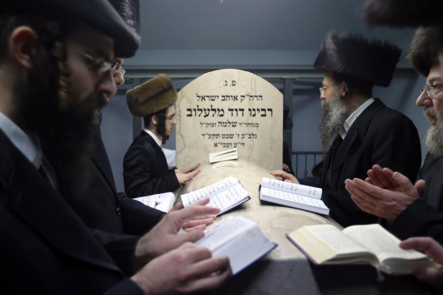 Ortodoksyjni Żydzi z całego świata przyjechali do Lelowa