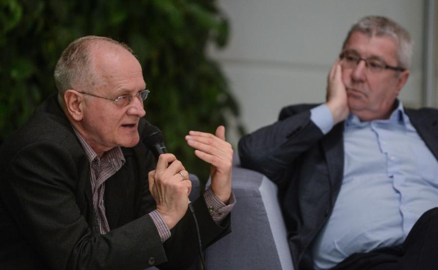 Krzysztof Czabański i Jan Dworak