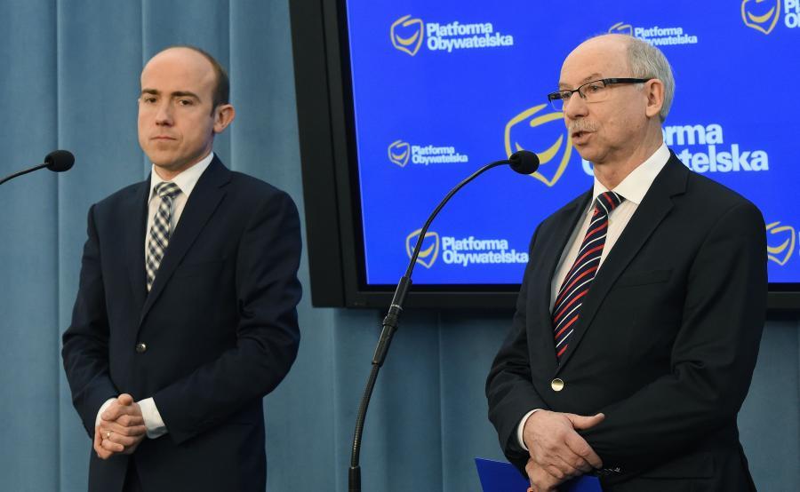 Borys Budka i Janusz Lewandowski