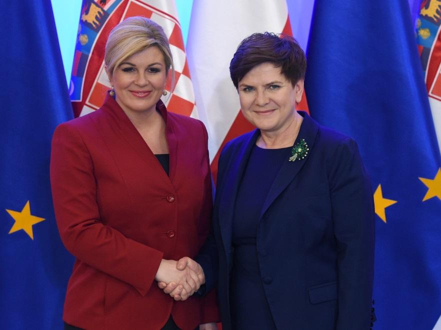 Kolinda Grabar-Kitarović i Beata Szydło