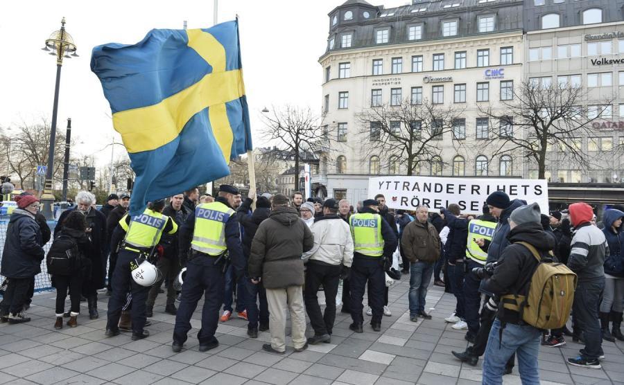 Demonstracja w Sztokholmie