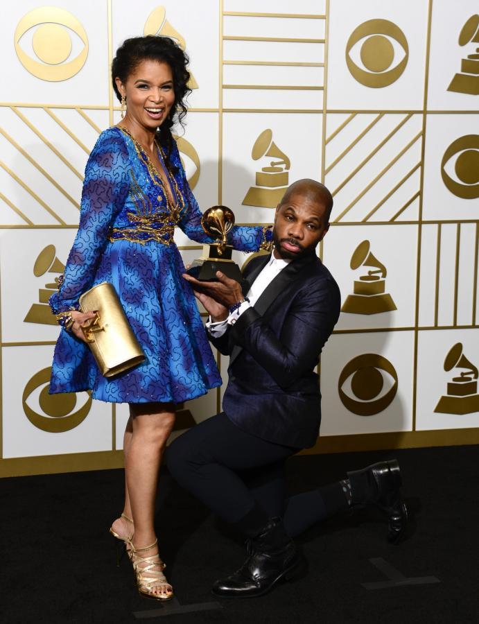 Najzabawniejsze zdjęcia z Grammy 2016: Kirk Franklin