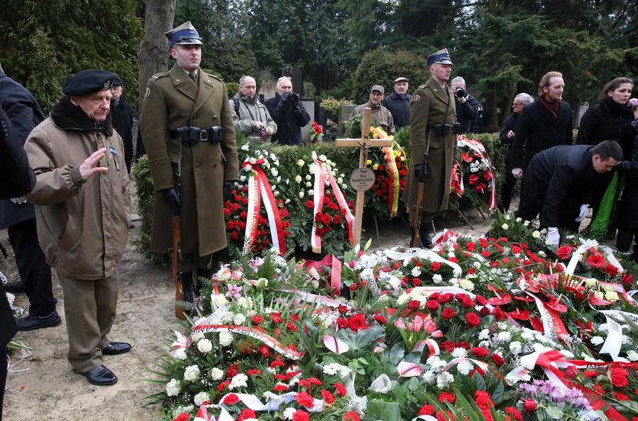 Uroczystości pogrzebowe Marii Stypułkowskiej-Chojeckiej