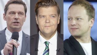 Krzysztof Ziemiec, Michał Figurski, Maciej Stuhr