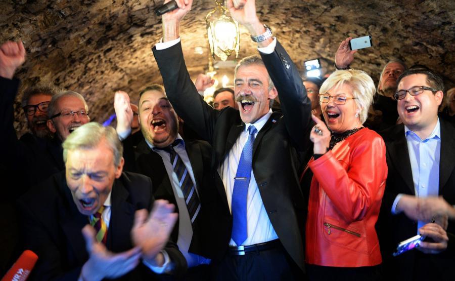 AfD świętuje sukces w wyborach