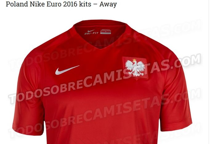 Koszulka reprezentacji Polski (czerwona)