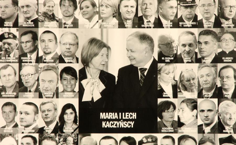 Lech Kaczyński, Maria Kaczyński i ofiary katastrofy smoleńskiej z 10 kwietnia 2010 roku