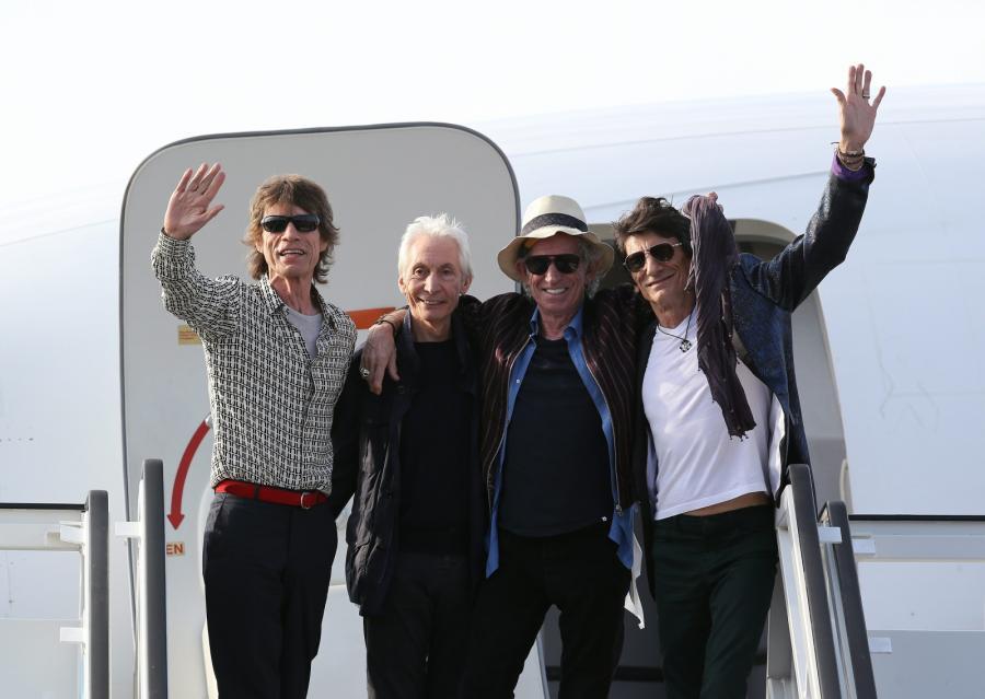 The Rolling Stones już na Kubie. Ich koncert będzie historycznym wydarzeniem