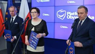 Sławomir Neumann, Ewa Kopacz i Grzegorz Schetyna