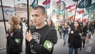 Marsz ONR przeszedł 16 kwietnia ulicami Białegostoku
