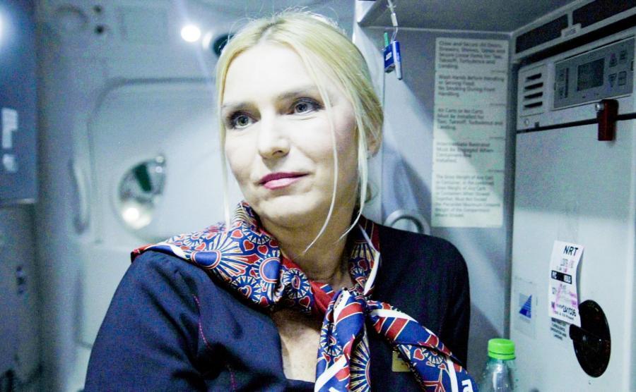Krystyna Lewińska - stewardessa LOT