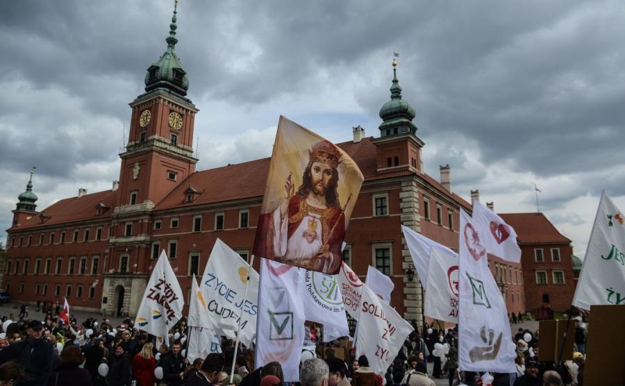 XI Marsz Świętości Życia przeszedł ulicami Warszawy
