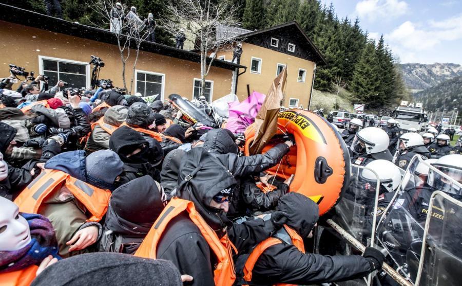 Starcia na przełęczy Brenner