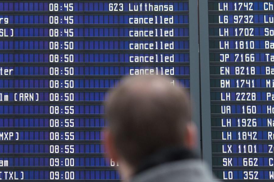 Strajki na lotniskach