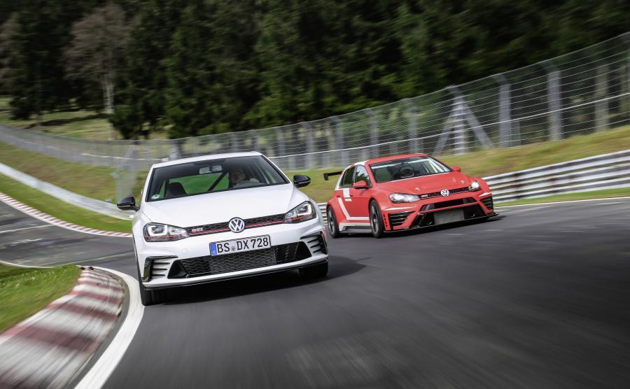 Volkswagen golf GTI Clubsport S i golf GTI TCR