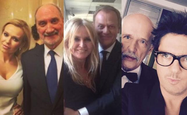 Doda, Antoni Macierewicz, Monika Olejnik, Donald Tusk, Janusz Korwin-Mikke, Kuba Wojewódzki