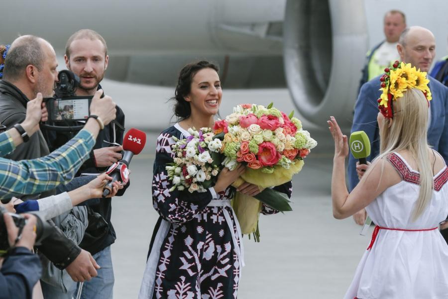 Ukraina w euforii. Tak witano Dżamalę