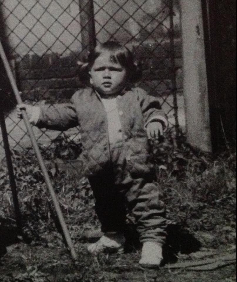 Beata Tadla w dzieciństwie