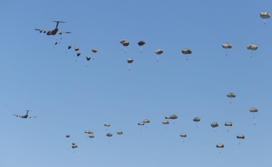 Desant NATO podczas ćwiczeń Anakonda