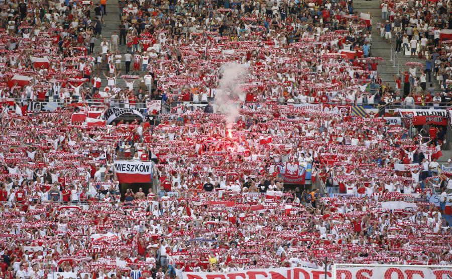 Polscy kibice w Marsylii