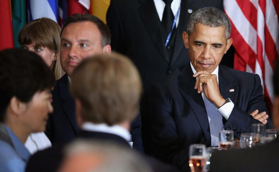 Andrzej Duda i Barack Obama