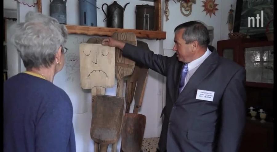 Stworzył skansen we własnym domu. Kolekcja liczy ponad 800 przedmiotów
