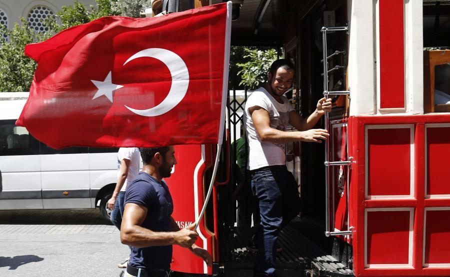 Turcy w tramwaju