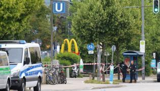 Miejsce strzelaniny w Monachium