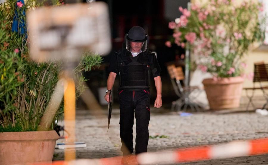 Zamach w Ansbach